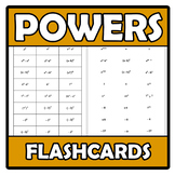 Flashcards - Powers - Potencias