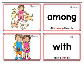 Flashcards - Prepositions