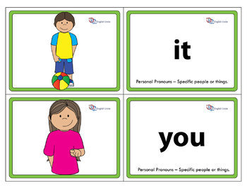 Flashcards - Pronouns