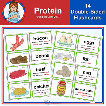 Flashcards - Protein