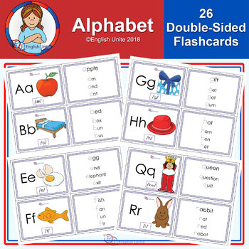 Flashcards - The Alphabet