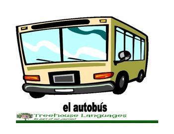 Flashcards: Transportes-transportations