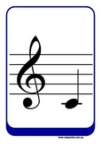 Flashcards - Treble Clef Notes