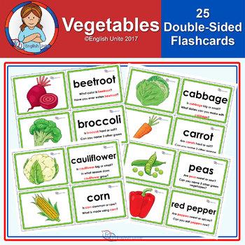 Flashcards – Vegetables
