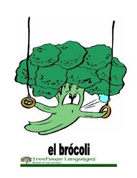 Flashcards: Vegetales-vegetables