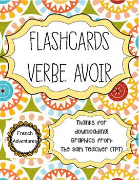 Flashcards- Verbe Avoir