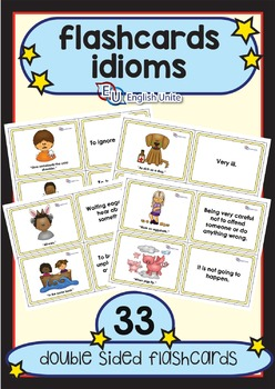 Flashcards - Idioms