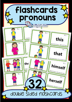Flashcards - Pronouns