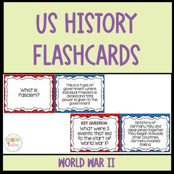 Flashcards- World War 2