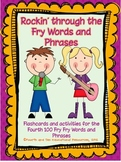 Flashcards and Activities for the Fourth 100 Fry Words and Phrases