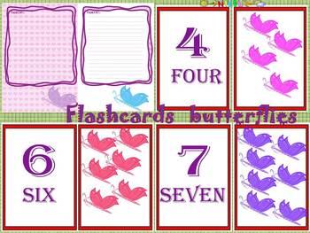 Butterflies - Flashcards