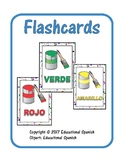 Flashcards colores / Spanish Colors Flashcards
