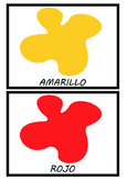 Flashcards:colors in Spanish