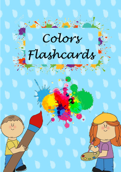 Flashcards colours