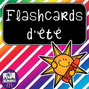 Flashcards d'été