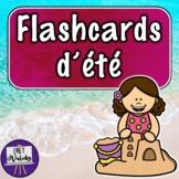 Flashcards d'été (French Summer Flashcards)