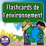Flashcards de l'environnement