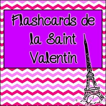 Flashcards de la Saint Valentin