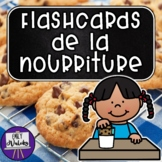 Flashcards de la nourriture (French Food Flashcards)
