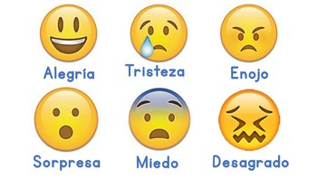 Flashcards de las emociones SPANISH