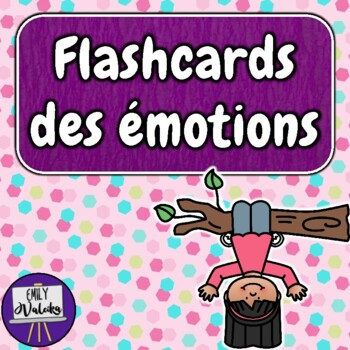 Flashcards des émotions (French Emotions Flashcards)