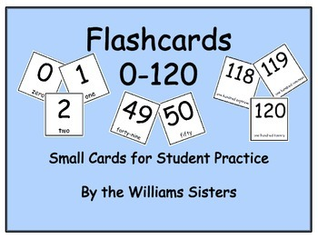 Flashcards for 0-120