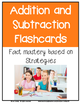 Flashcards for Addition and Subtraction Fact Mastery
