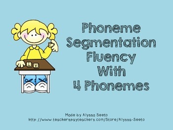 Flashcards for PSF (4 phonemes)