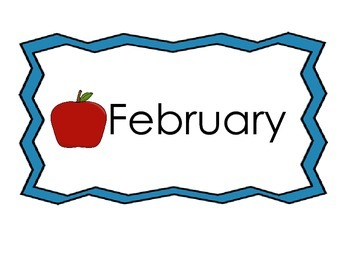 Flashcards for the Months of the Year--Bees, Apples, Frogs