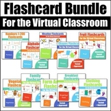 Flashcards for VIPKid & the Virtual ESL Classroom Bundle - Classroom Props