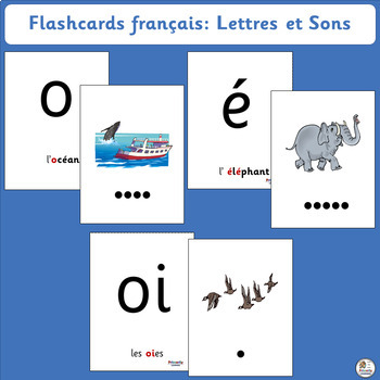 French: Flashcards français - Lettres et Sons supports Jolly Learning. (SASSOON)