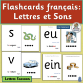 French: Flashcards français - Lettres et Sons for French Phonics (SASSOON)