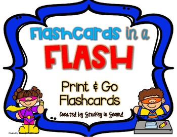 Flashcards in a Flash {Addition and Subtraction}