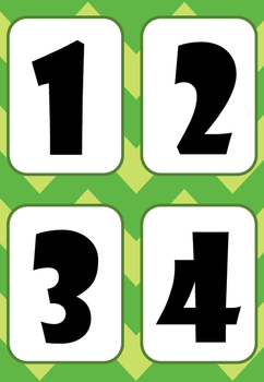 Flashcards numération 0-10