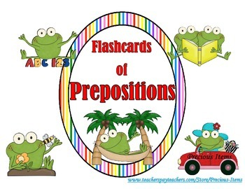 Flashcards of Prepositional Words