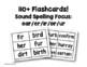 Flashcards (r controlled words ear/er/ir/or/ur) Set 1