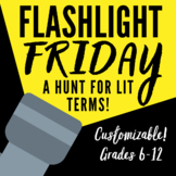 Flashlight Friday: A Hunt for Literary Terms!