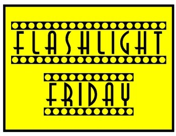 Flashlight Friday Poster Set