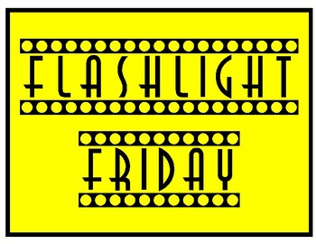 Flashlight Friday Poster Set