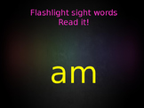 Flashlight Sight Words Powerpoint (Fry's Lists)