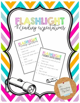 Flashlight Reading Expectations