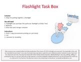 Flashlight Task Box