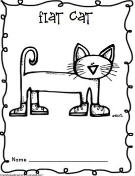 Flat Cat Spring Break Activity