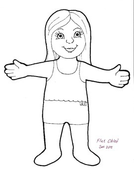 image relating to Flat Stanley Printable Templates identify Flat Stanley Template Worksheets Training Components TpT