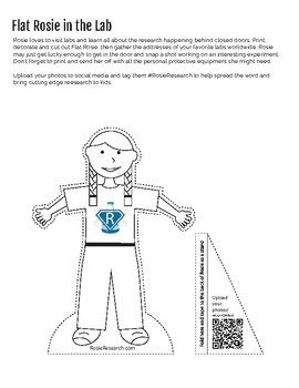 Flat Rosie - Learning letter writing and science