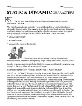 Flat/Round Static/Dynamic Types of Characterization