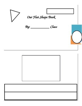 Flat Shape Book: Shared Math Writing