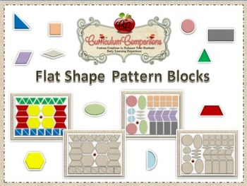 Flat Shapes Set