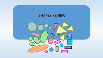 Flat Shape and 3D Shapes Powerpoint