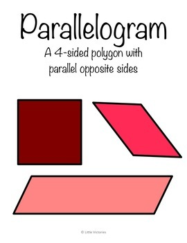 Flat & Solid Shapes Anchor Charts & Coloring Pages- Polygons, 2D, and 3D Shapes